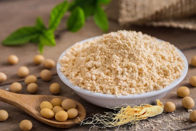 bột đậu nành nhân sâm nguyên chất