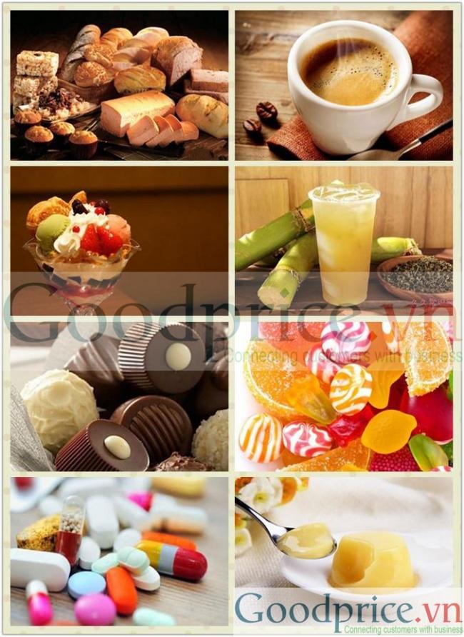 Chất tạo ngọt sorbitol dạng bột nguyên chất