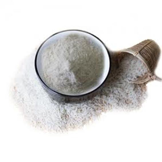 bột gạo sấy chín
