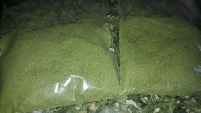 bột lá dứa