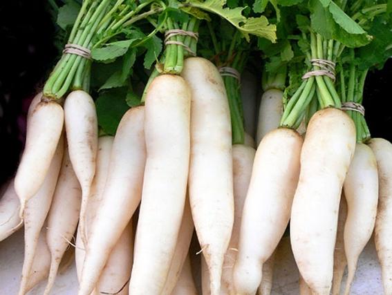củ cải trắng sấy khô