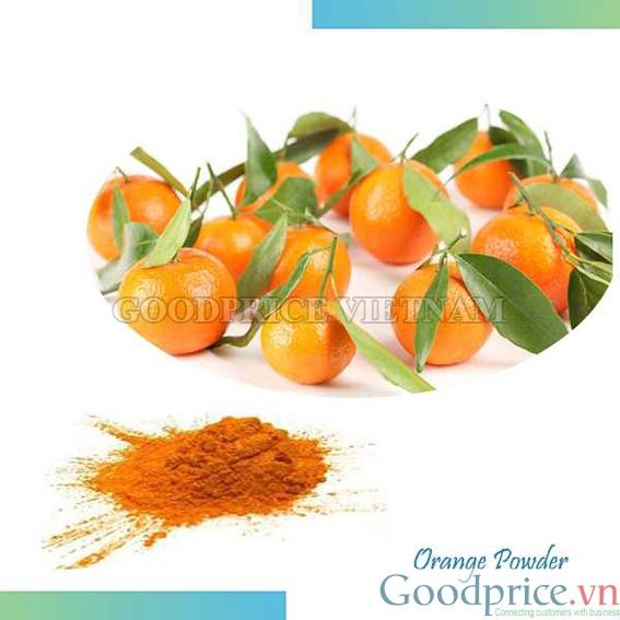 Hương cam dạng bột