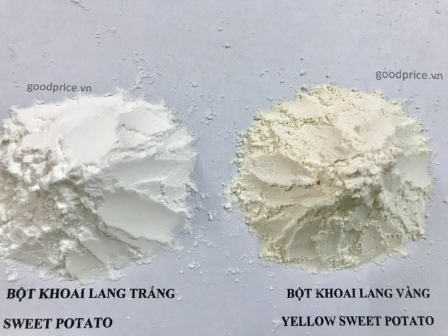 bột khoai lang nguyên chất