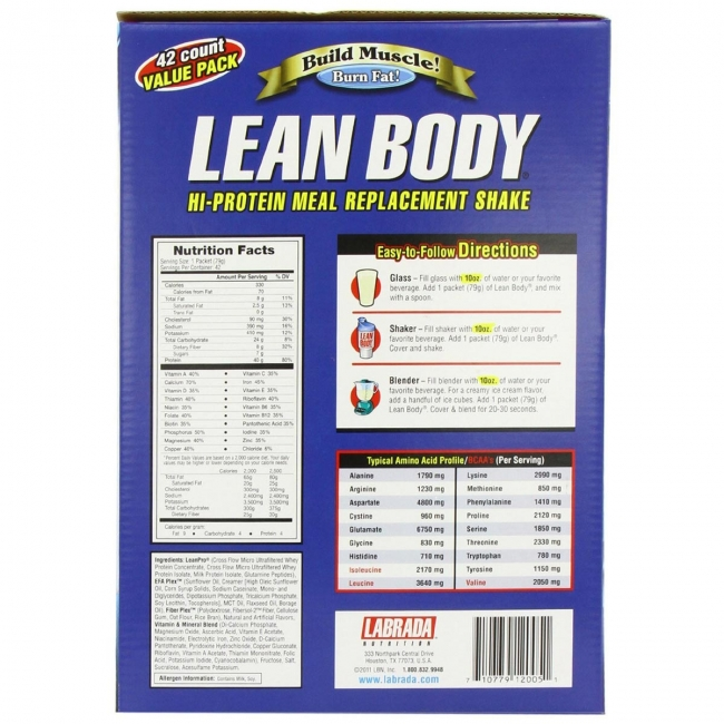 Labrada Lean Body MRP