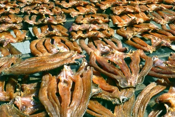 khô cá lóc