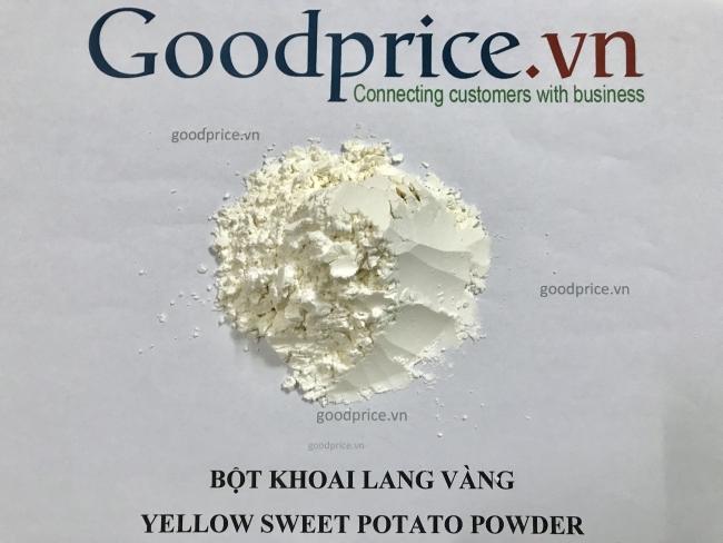 bột khoai lang vàng